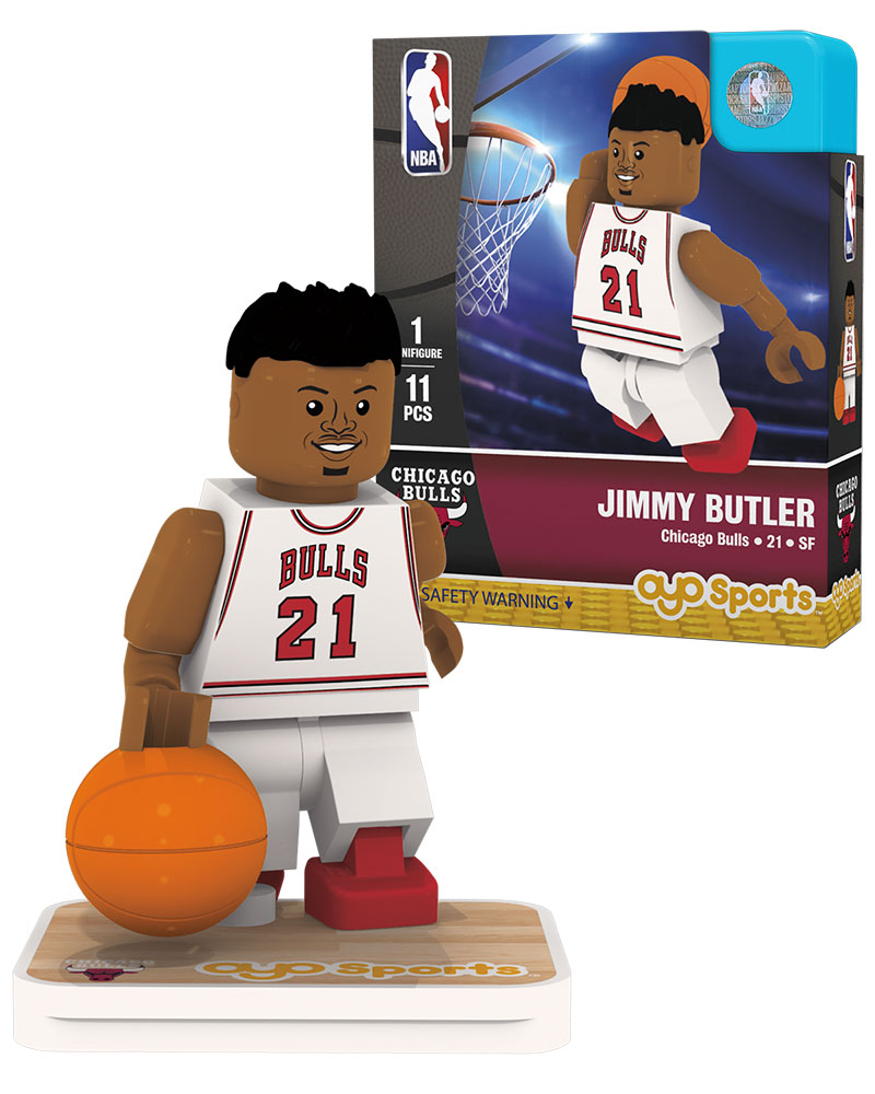 NBA CHI Chicago Bulls JIMMY BUTLER Home Uniform Limited Edition