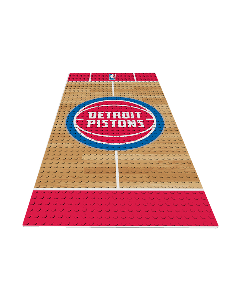 NBA DET Detroit Pistons 0 1 24X48 DISPLAY BRICK