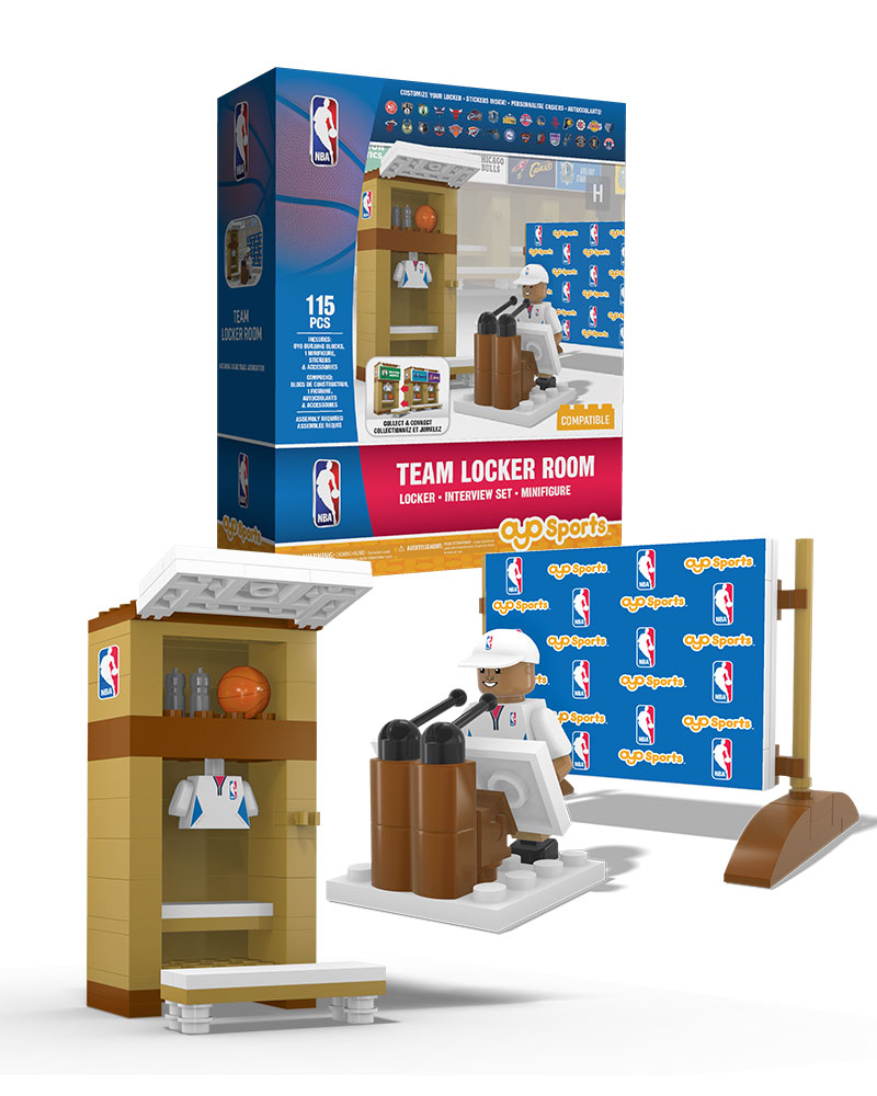 NBA GEN All Locker Room Set