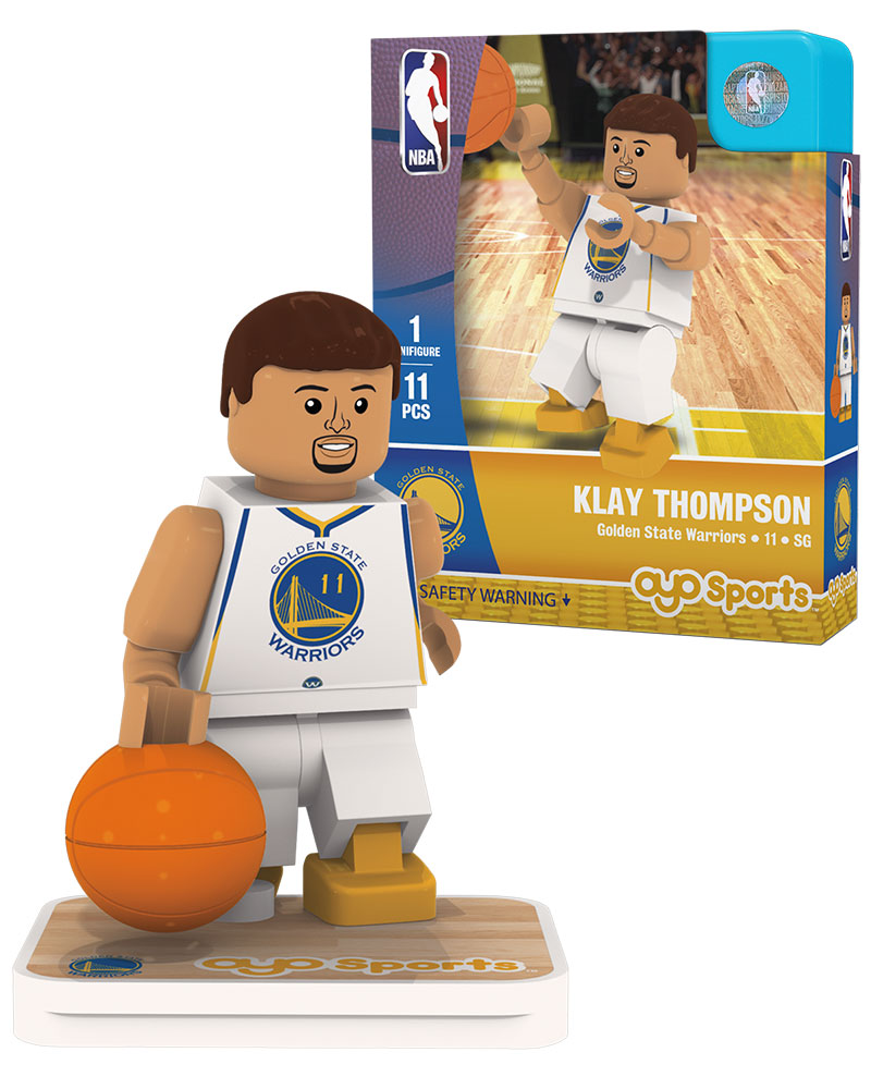 NBA GSW Golden State Warriors KLAY THOMPSON Home Uniform Limited Edition