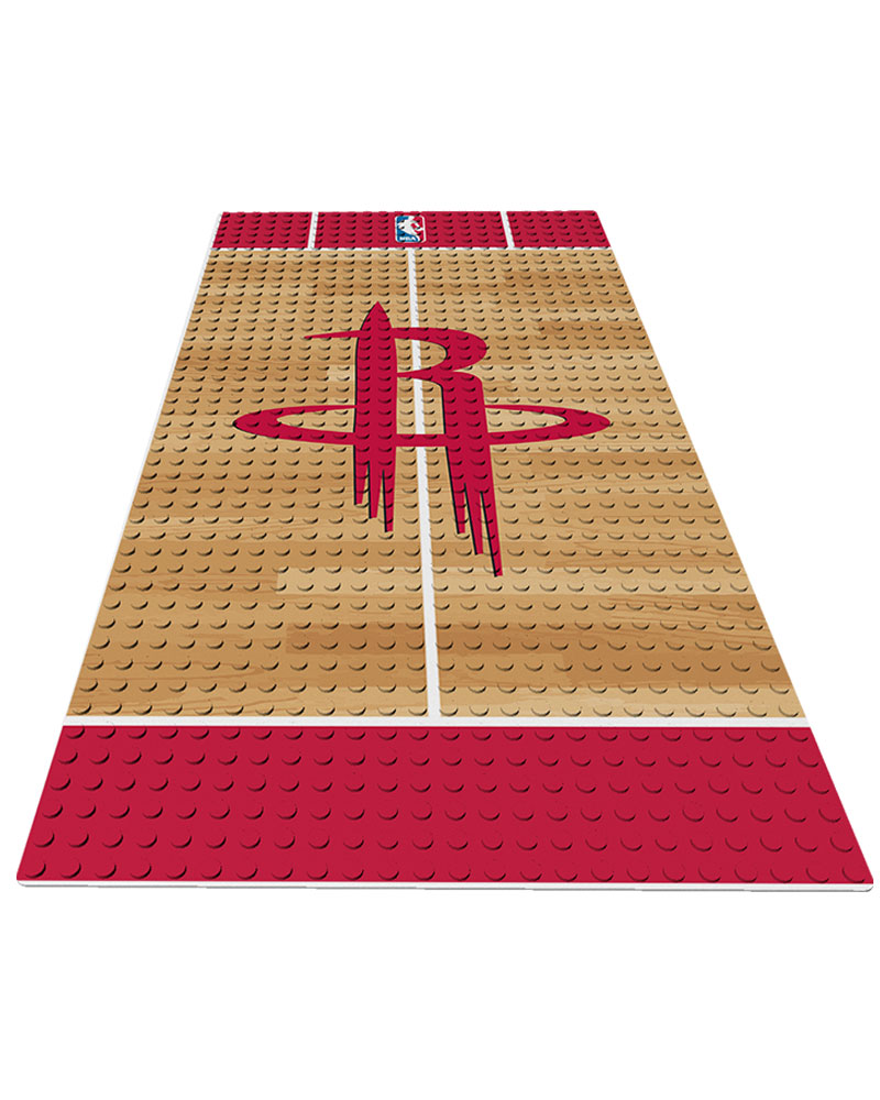 NBA HOU Houston Rockets 0 1 24X48 DISPLAY BRICK