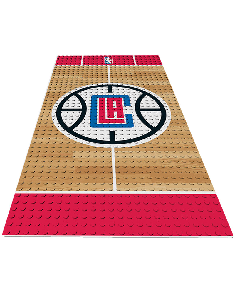 NBA LAC Los Angeles Clippers 0 1 24X48 DISPLAY BRICK