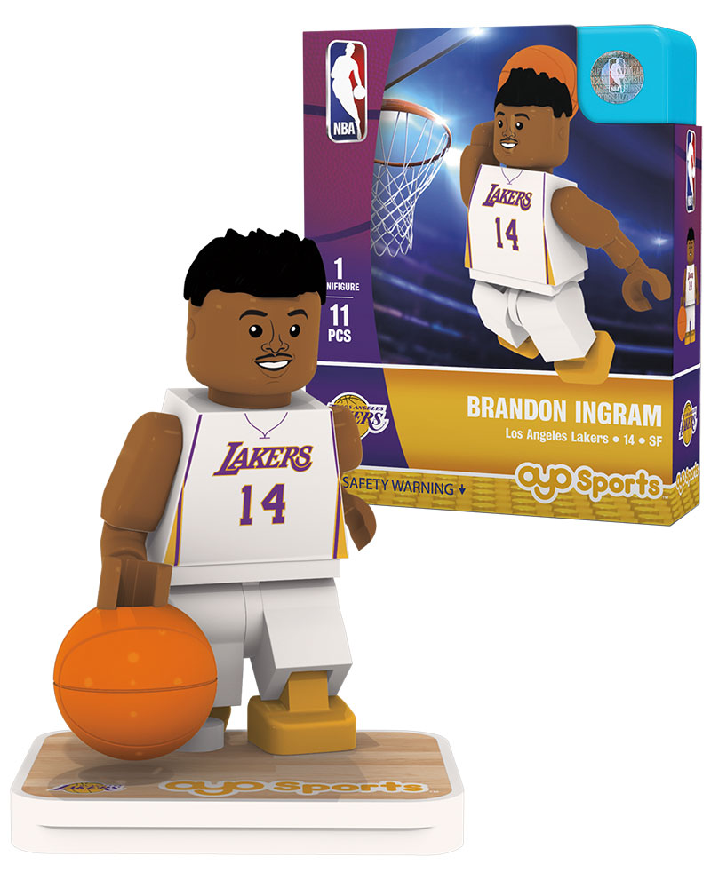 NBA LAL Los Angeles Lakers BRANDON INGRAM Home Uniform Limited Edition