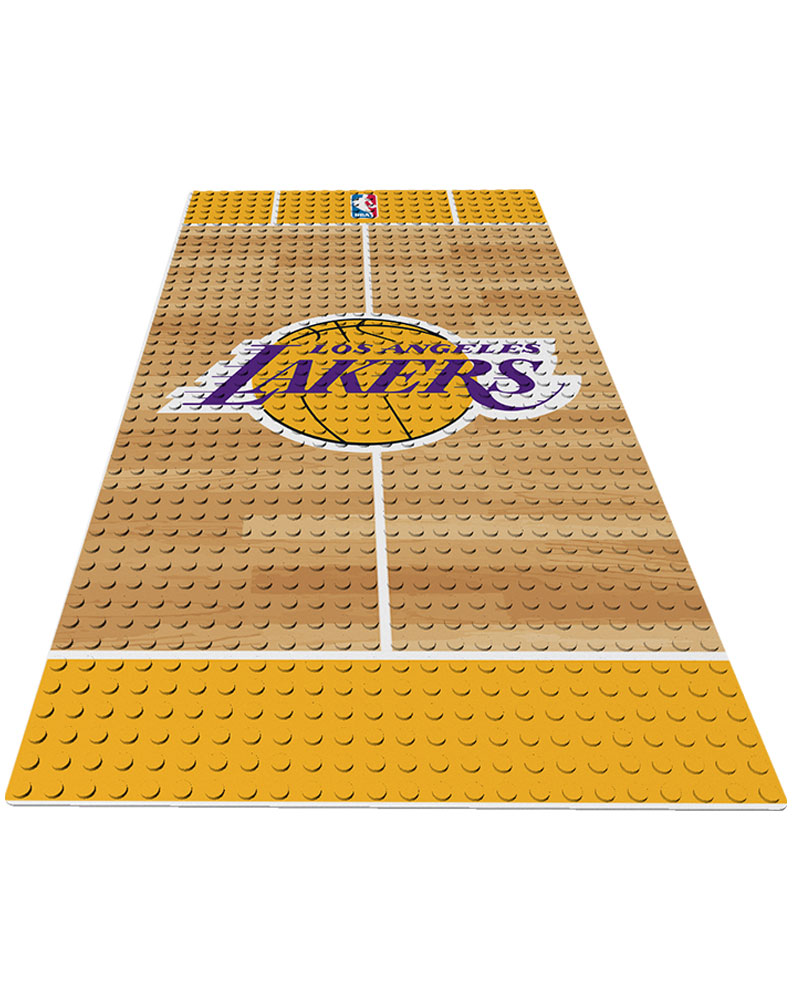 NBA LAL Los Angeles Lakers 0 1 24X48 DISPLAY BRICK