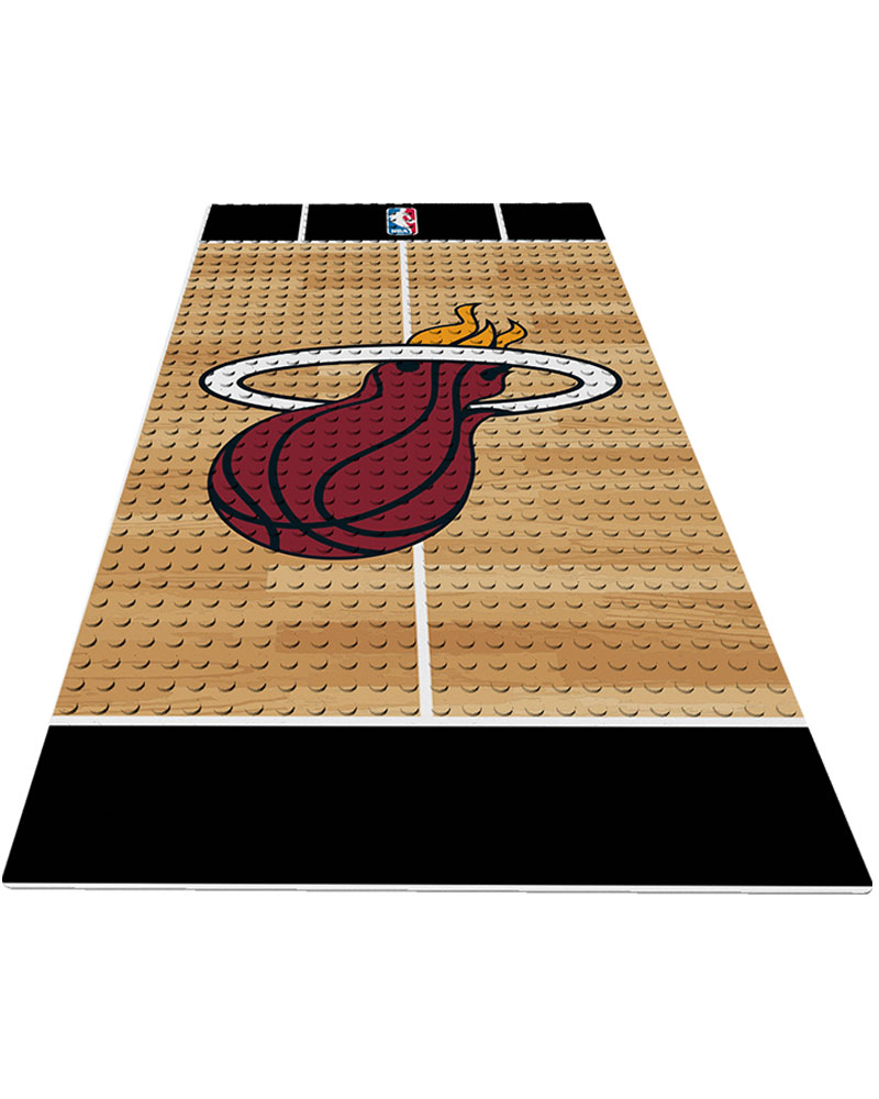 NBA MIA Miami Heat 0 1 24X48 DISPLAY BRICK