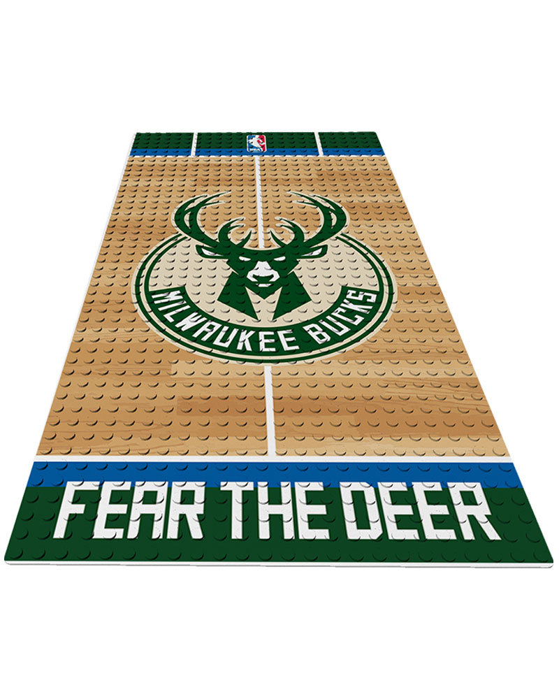 NBA MIL Milwaukee Bucks 0 1 24X48 DISPLAY BRICK