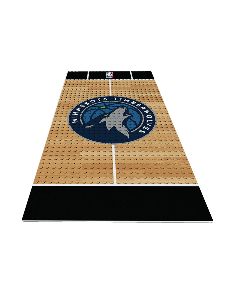 NBA MIN Minnesota Timberwolves 0 1 24X48 DISPLAY BRICK