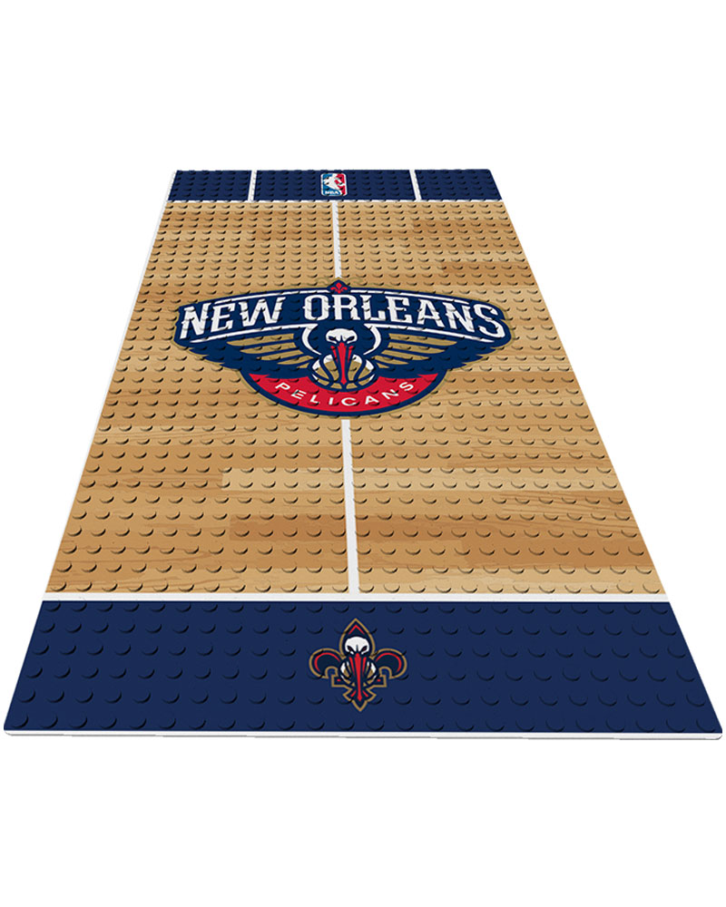 NBA NOP New Orleans Pelicans 0 1 24X48 DISPLAY BRICK