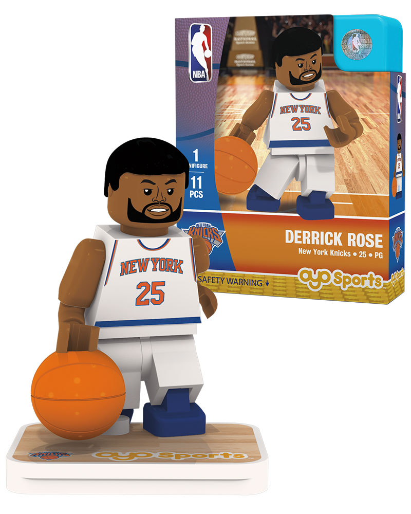 NBA NYN New York Knicks DERRICK ROSE Home Uniform Limited Edition