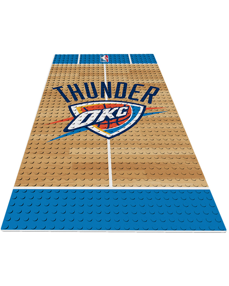 NBA OKC Oklahoma City Thunder 0 1 24X48 DISPLAY BRICK