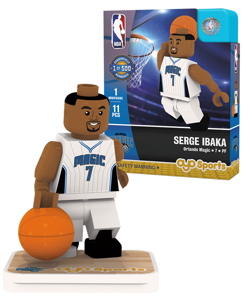 NBA ORL Orlando Magic SERGE IBAKA Home Uniform Limited Edition