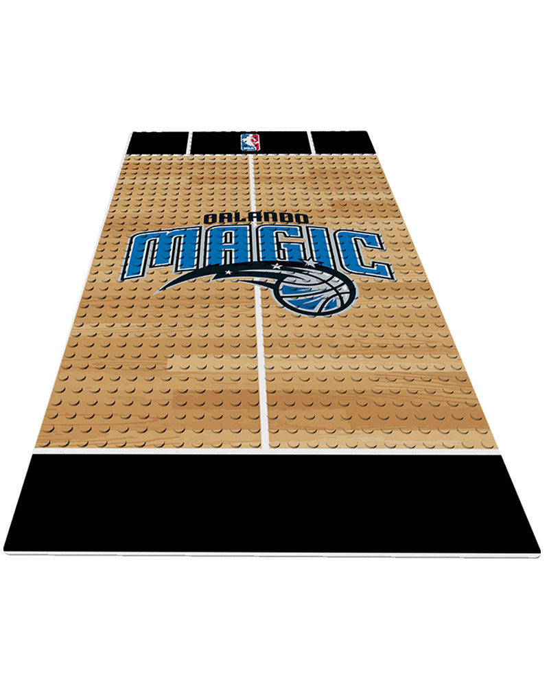 NBA ORL Orlando Magic 0 1 24X48 DISPLAY BRICK