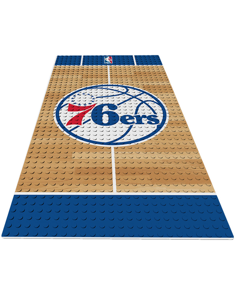 NBA PHI Philadelphia 76ers 0 1 24X48 DISPLAY BRICK