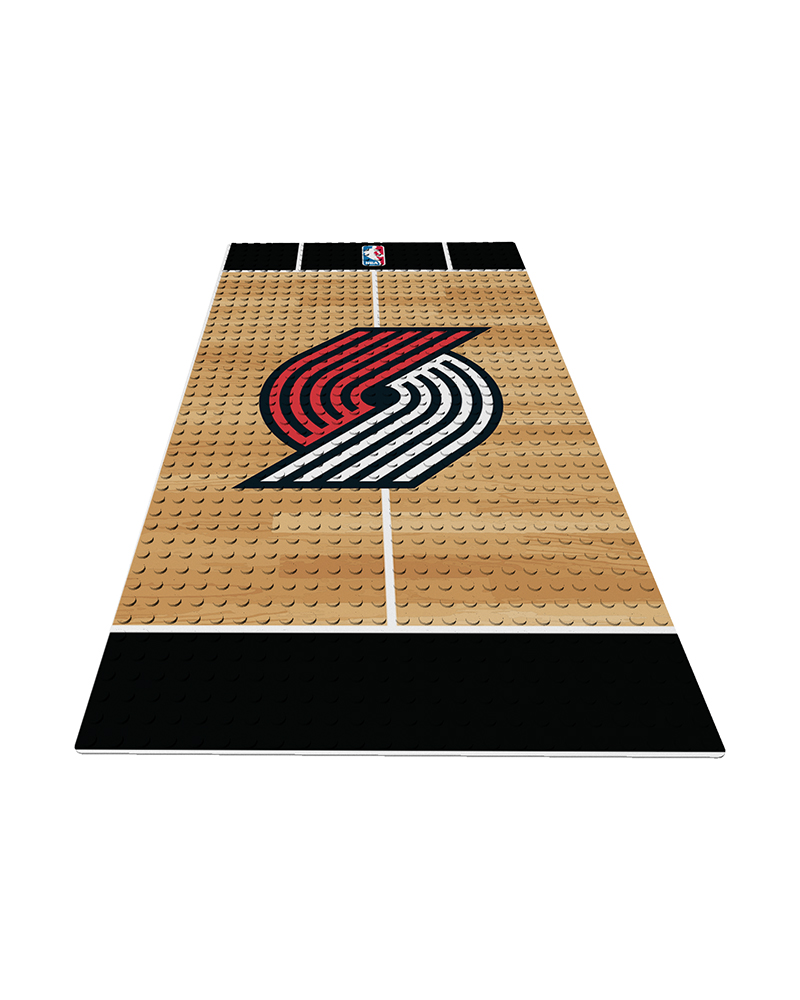 NBA POR Portland Trail Blazers 0 1 24X48 DISPLAY BRICK