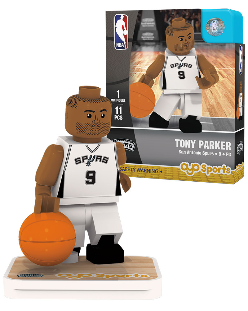 NBA SAN San Antonio Spurs TONY PARKER Home Uniform Limited Edition