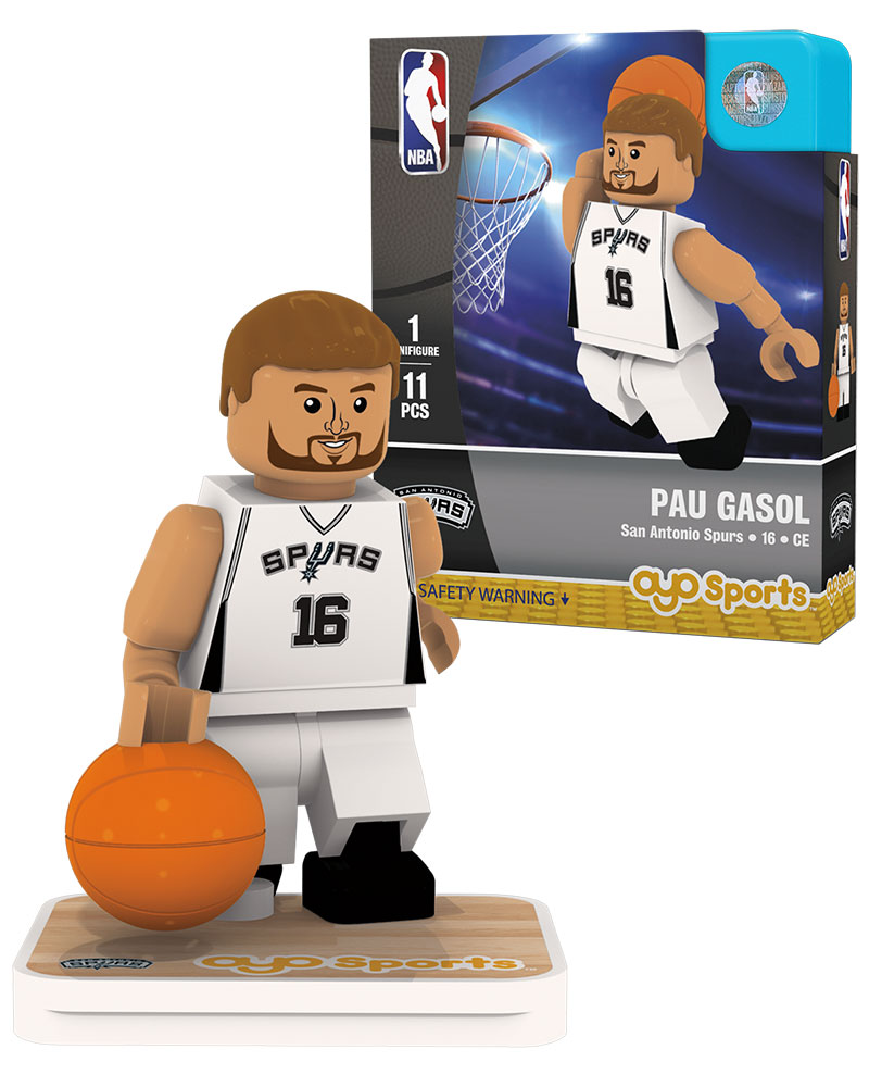 NBA SAN San Antonio Spurs PAU GASOL Home Uniform Limited Edition