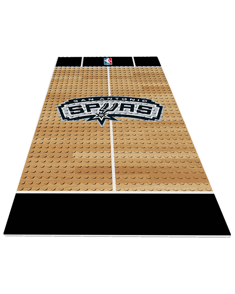 NBA SAN San Antonio Spurs 0 1 24X48 DISPLAY BRICK