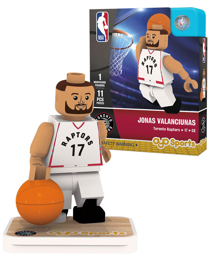 NBA TOR Toronto Raptors JONAS VALANCIUNAS Home Uniform Limited Edition