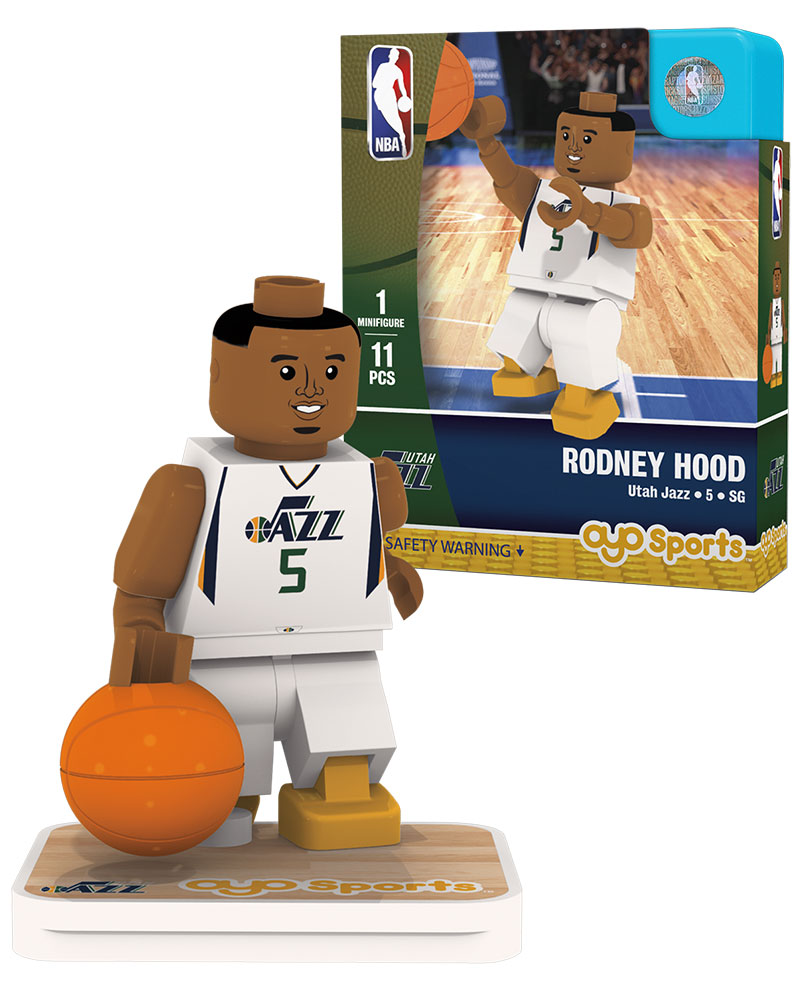NBA UTA Utah Jazz RODNEY HOOD Home Uniform Limited Edition