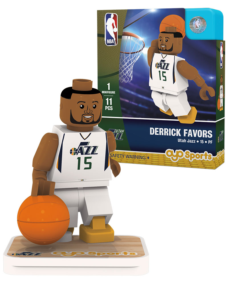 NBA UTA Utah Jazz DERRICK FAVORS Home Uniform Limited Edition