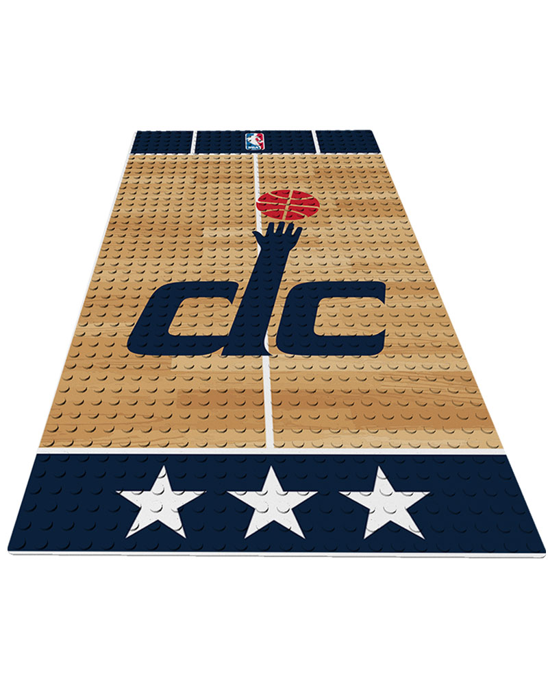 NBA WAS Washington Wizards 0 1 24X48 DISPLAY BRICK