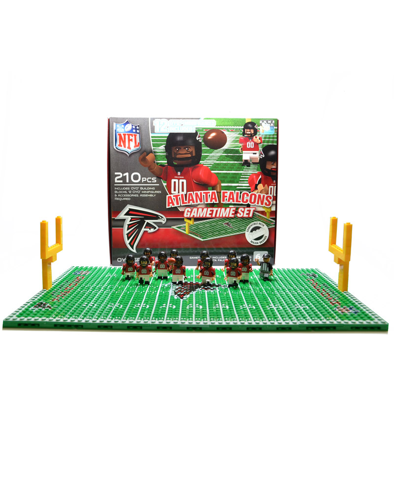 NFL - ATL - Atlanta Falcons N/A N/A Football Team Gametime Set 101