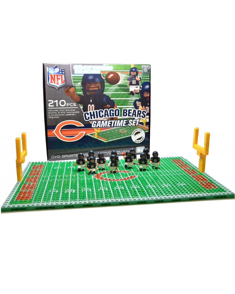 NFL - CHI - Chicago Bears N/A N/A Football Team Gametime Set 104