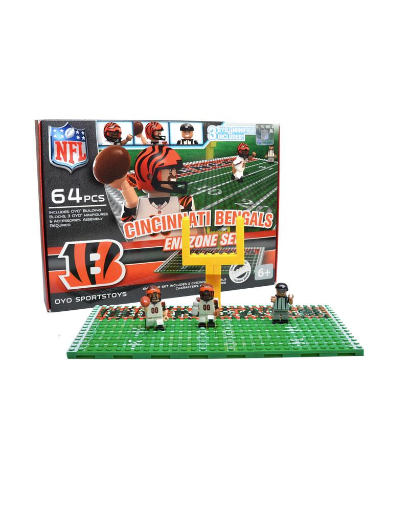 NFL CIN Cincinnati Bengals N A N A Football Endzone Set