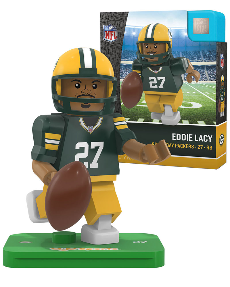 NFL GBP Green Bay Packers EDDIE LACY Limited Edition