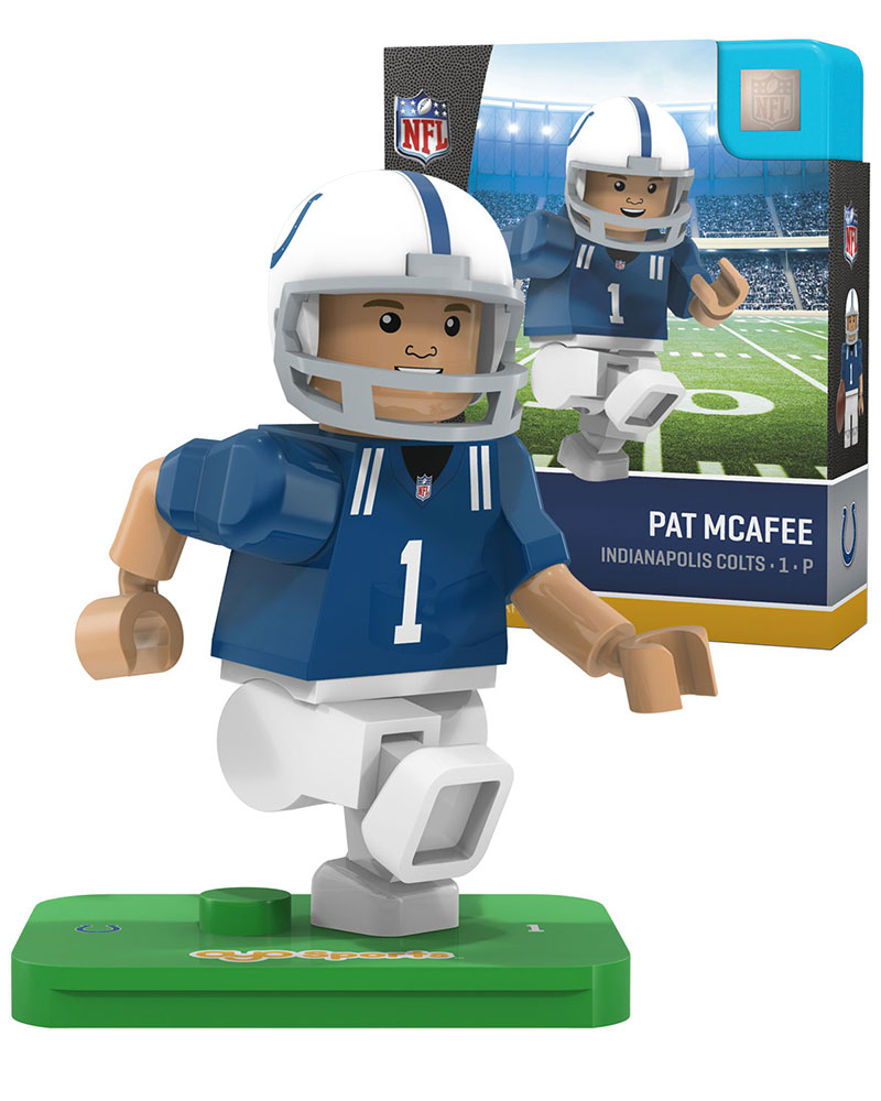 NFL IND Indianapolis Colts PAT McAFEE Limited Edition