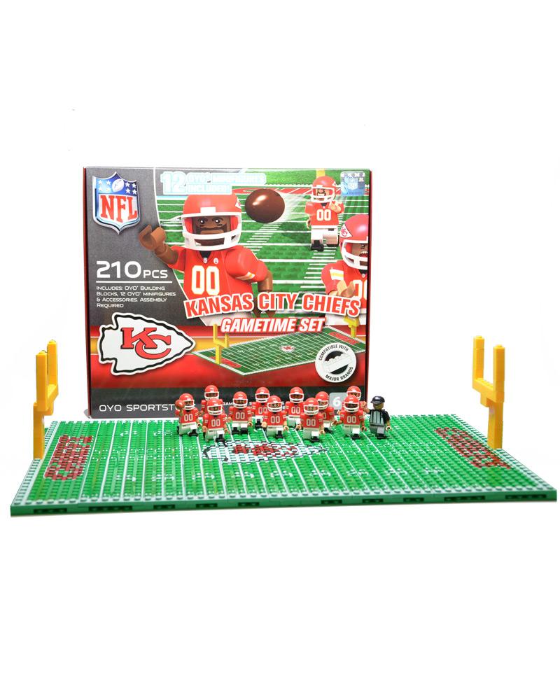 NFL - KCC - Kansas City Chiefs N/A N/A Football Team Gametime Set 112