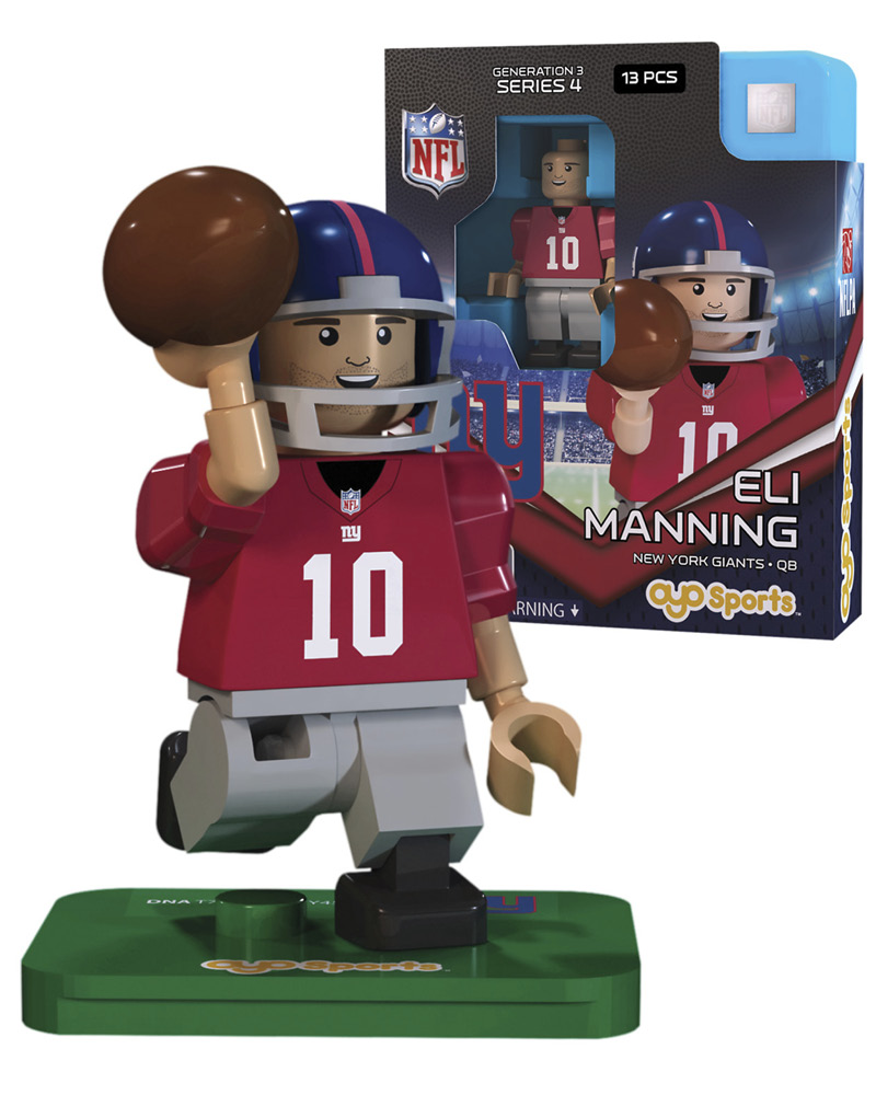 NFL - NYG - New York Giants ELI MANNING Limited Edition 367