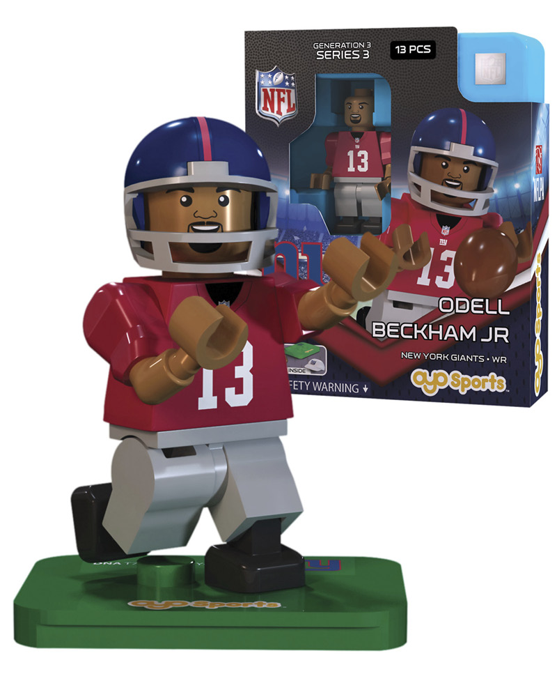 NFL - NYG - New York Giants ODELL BECKHAM JR Limited Edition 369