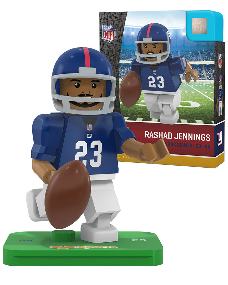 NFL NYG New York Giants RASHAD JENNINGS Limited Edition