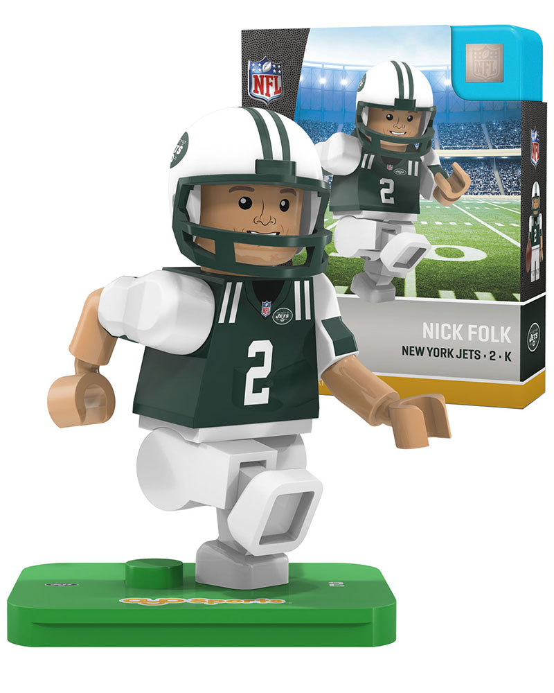 NFL NYJ New York Jets NICK FOLK Limited Edition