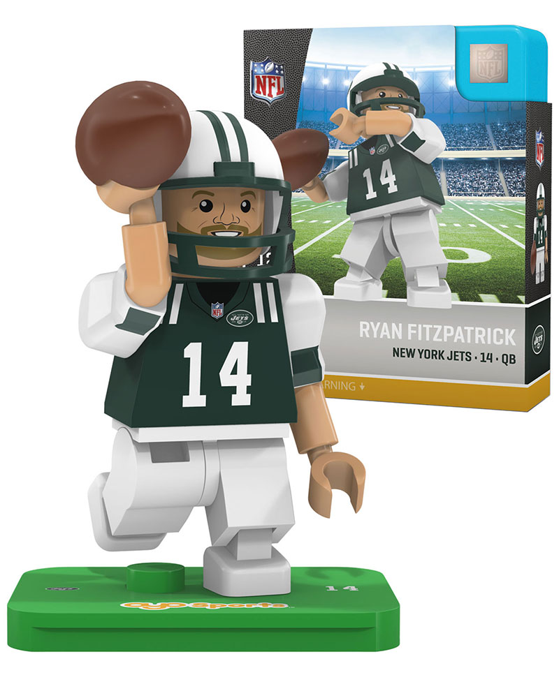 NFL NYJ New York Jets RYAN FITZPATRICK Limited Edition