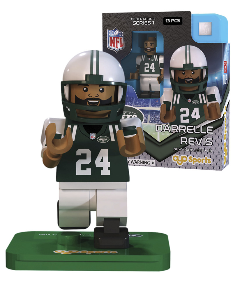 NFL - NYJ - New York Jets DARRELLE REVIS Limited Edition 347