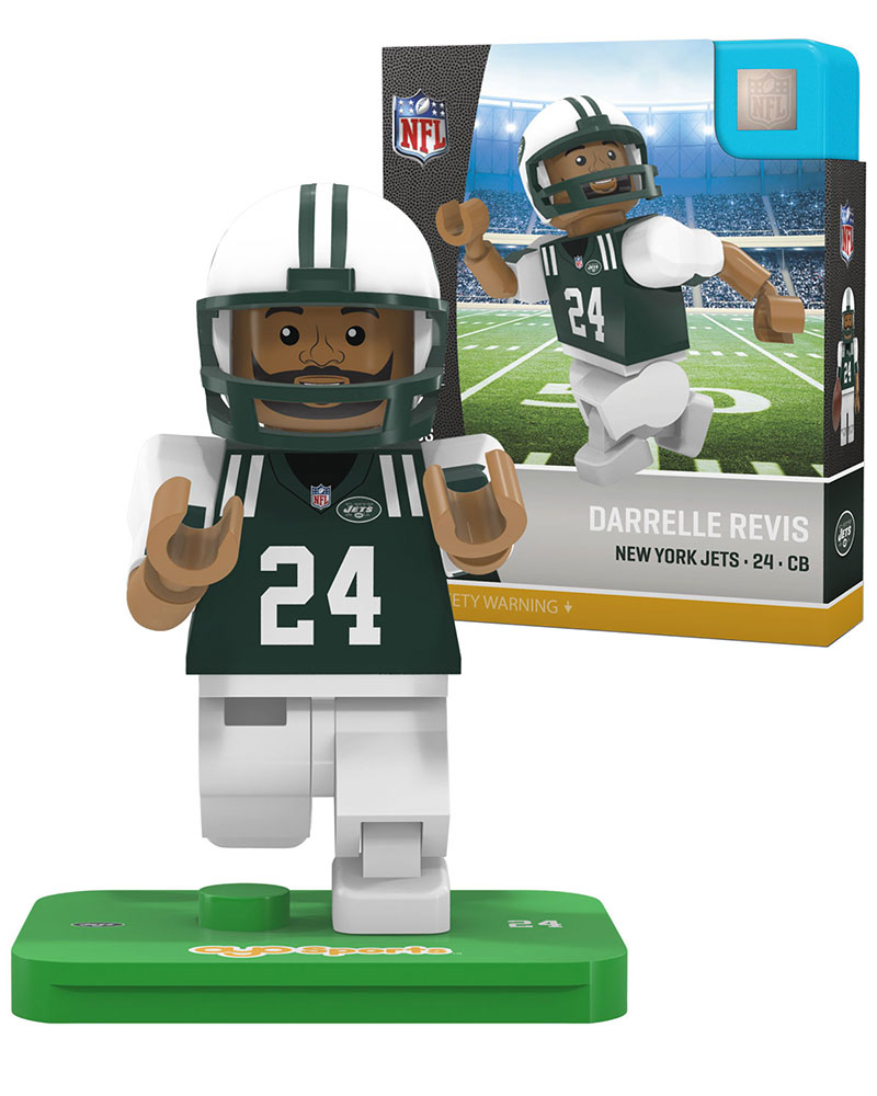 NFL NYJ New York Jets DARRELLE REVIS Limited Edition