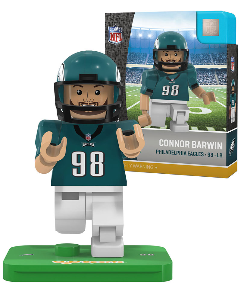 NFL PHI Philadelphia Eagles CONNOR BARWIN Limited Edition