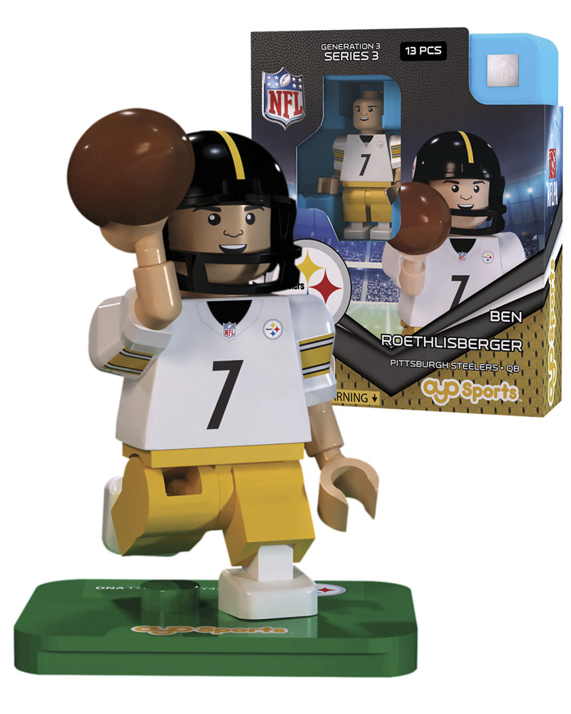 NFL - PIT - Pittsburgh Steelers BEN ROETHLISBERGER Limited Edition 395