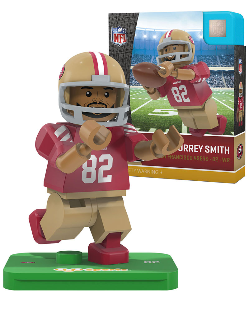 NFL SAN San Francisco 49ers TORREY SMITH Limited Edition