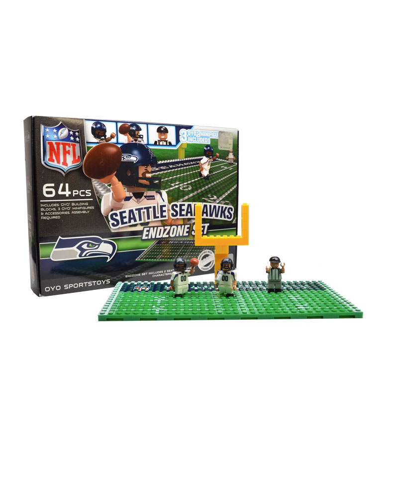 NFL - SEA - Seattle Seahawks N/A N/A Football Endzone Set 138