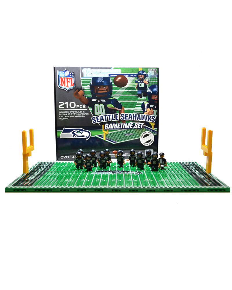 NFL - SEA - Seattle Seahawks N/A N/A Football Team Gametime Set 123