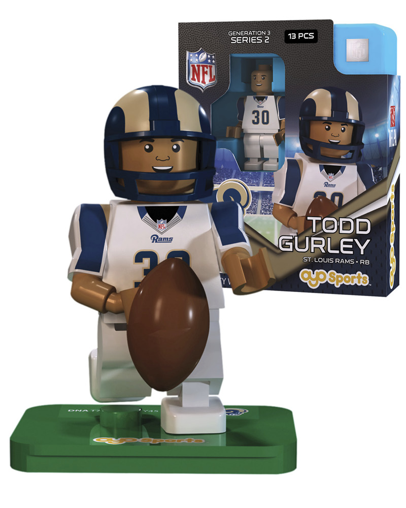 NFL - STL - St. Louis Rams TODD GURLEY Limited Edition 191