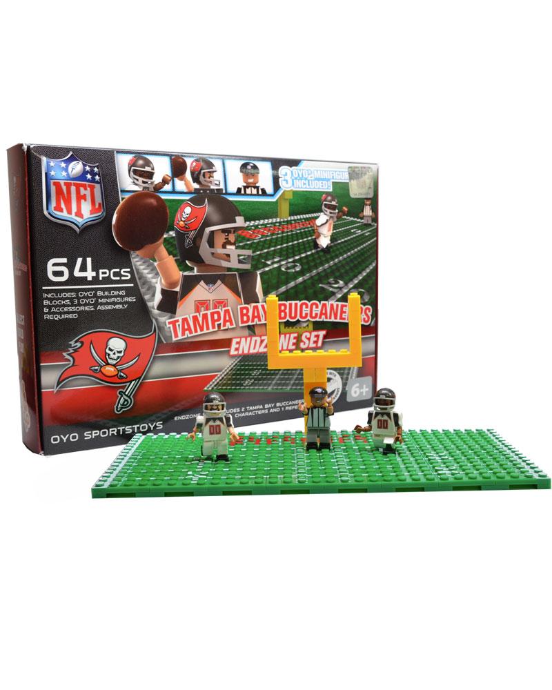 NFL TBB Tampa Bay Buccaneers N A N A Football Endzone Set