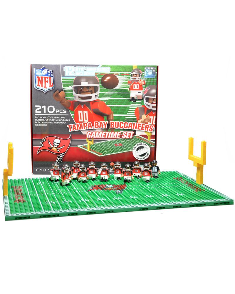 NFL TBB Tampa Bay Buccaneers N A N A Football Team Gametime Set