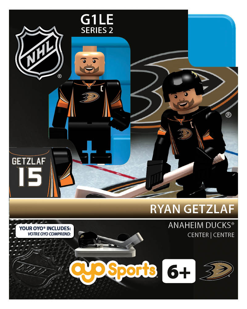 NHL - ANA - Anaheim Ducks Ryan Getzlaf Home Uniform R2 Limited Edition