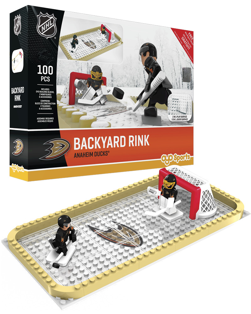 NHL ANA Anaheim Ducks Backyard Rink Set