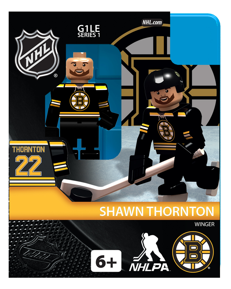 NHL - BOS - Boston Bruins Shawn Thornton Home Uniform Limited Edition