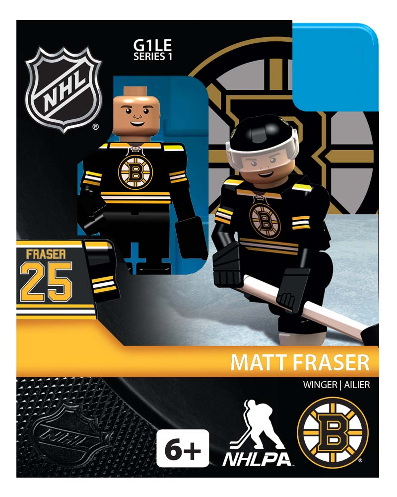 NHL - BOS - Boston Bruins Matt Fraser Home Uniform Limited Edition